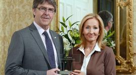 J.K. Rowling Recibe Premio Humanitario de la Cruz Roja