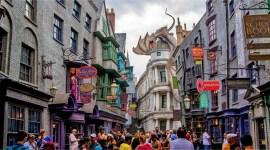 Callejón Diagon Ayuda a 'Universal Orlando' a Batir Récord de Visitas en 2014