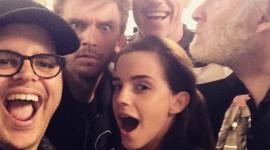 Primera Imagen de Emma Watson con el Reparto de 'La Bella y la Bestia'