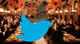 Sigue al Sombrero Seleccionador en Twitter para Conocer tu Casa de Hogwarts!