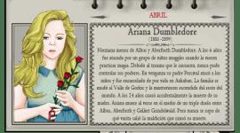 Ariana Dumbledore – Mago del Mes Abril