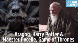 Video: Actores que aparecen en Harry Potter y Juego de Tronos