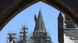 Continúa la construcción del Parque Temático de Harry Potter en Hollywood