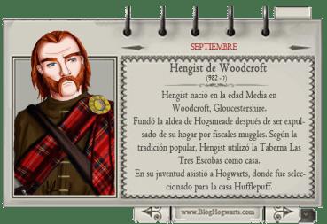 Hengist de Woodcroft – Mago del Mes Septiembre