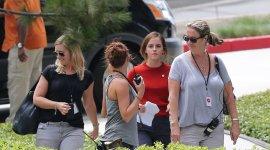 Fotografías de Emma Watson en el rodaje de 'The Circle'