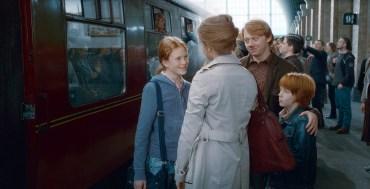 Fanfic: Un día en la casa de los Weasley