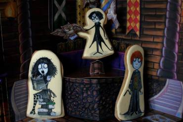 Galletas de Halloween con tema de Harry Potter