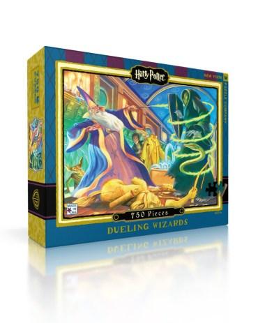 A la venta rompecabezas oficiales de Harry Potter con el arte de Mary Grandpré