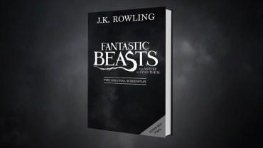 El guión de 'Animales Fantásticos y Dónde Encontrarlos' se publicará como libro