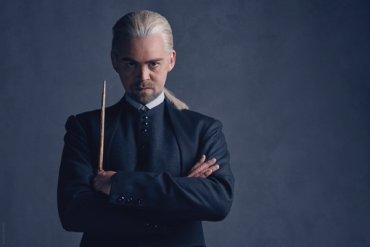 Imágenes de Draco y Scorpius en The Cursed Child + Detrás de cámaras