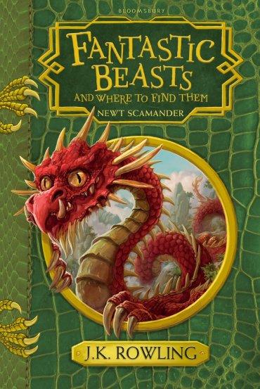 Nuevas portadas para la edición extendida del libro 'Animales Fantásticos y Dónde Encontrarlos'