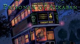 ¡Revelan portada de la edición ilustrada de 'Harry Potter y el Prisionero de Azkaban'!