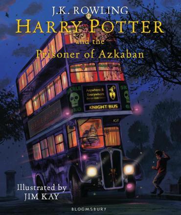 ¡Revelan imágenes de la edición ilustrada de 'Harry Potter y el Prisionero de Azkaban'!