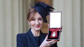 JK Rowling ingresó en la 'Orden de los Compañeros de Honor' británica