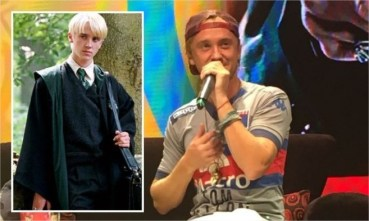 Video: Tom Felton y su primera visita a la Argentina