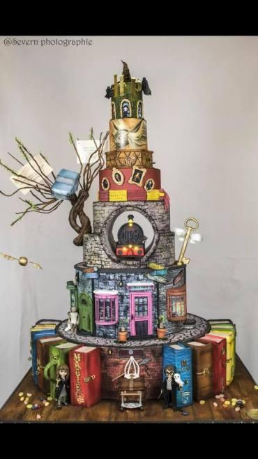 El pastel más increíble inspirado en Harry Potter