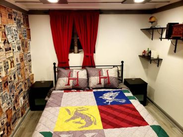 Airbnb: condominio inspirado 100% en Harry Potter