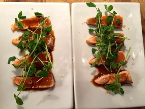 Asian Salmon Tataki