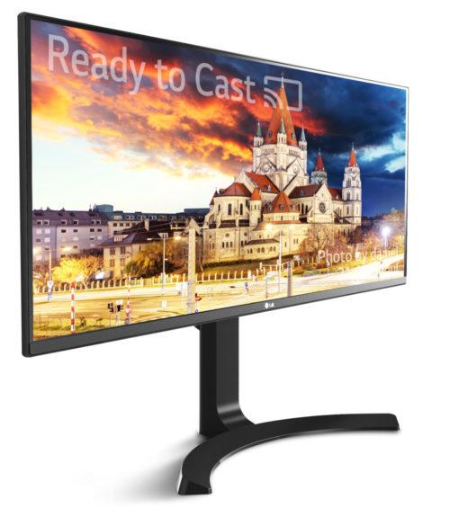 LG monitor 4K HDR