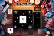 Doogee Y6 Piano Black disponibile in un Christmas Pack con edizione limitata