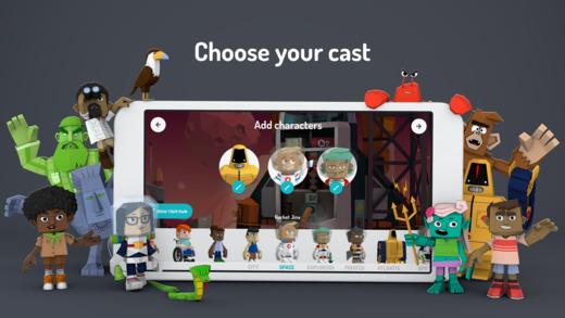 Toontastic 3D applicazione