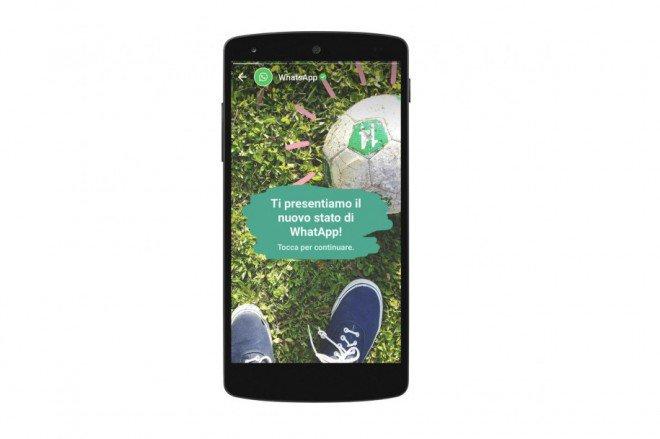 WhatsApp diventa social. Status condiviso per 24 ore