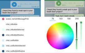 Telegram, arrivano i temi personalizzati col nuovo update