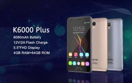 Oukitel K6000 Plus, nuova offerta per lo smartphone Android dall'elevata autonomia