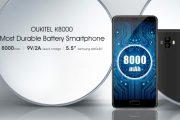 OUKITEL K8000 sarà dotato di una batteria da 8000 mAh e schermo AMOLED Samsung