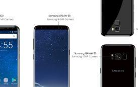 Oukitel K5000 contro Samsung Galaxy S8, è sfida di componenti hardware