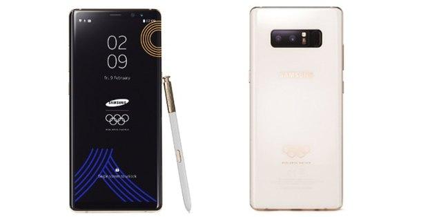 Galaxy Note 8: ecco l'edizione limitata dei Giochi Olimpici PyeongChang 2018