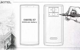 Oukitel K7 pronto con la sua super batteria e col retro in vera pelle di vitello - immagini e filmato da non perdere -