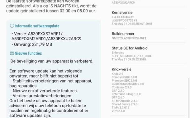 Samsung Galaxy A8 si aggiorna con una novità importante: ecco di cosa si tratta