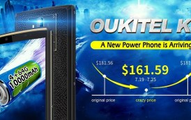 OUKITEL K7 disponibile su Aliexpress in vendita flash a soli 161,59 dollari, affrettatevi