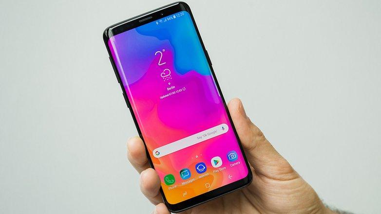 Personalizzare la barra di stato su Samsung Galaxy S9 e S9 Plus
