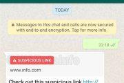 Whatsapp vuole comandare su tutto: l'app se la vedrà con spam e link sospetti