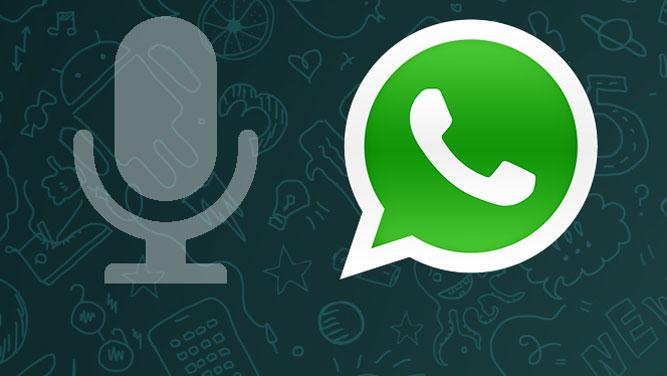 Come condividere un messaggio vocale su Whatsapp