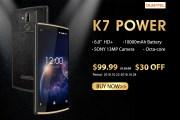OUKITEL K7 Power in prevendita ad un prezzo bassissimo, il device più conveniente con batteria da 10.000 mAh