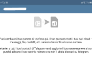 Come cambiare numero di telefono in Telegram