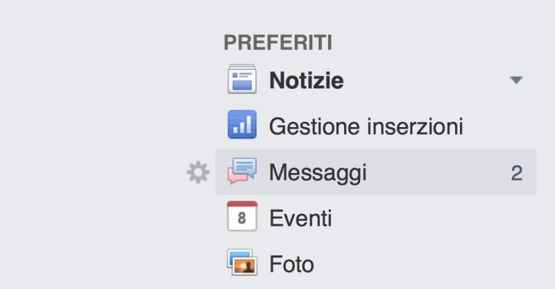 Come leggere i messaggi nascosti ricevuti su Facebook