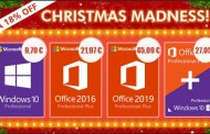 Software Christmas Madness: Windows 10 Pro 9,70 € ,office 2016 Pro 12,97€ and office 2019 45,09€