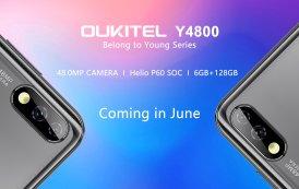 OUKITEL Y4800: arriva il primo smartphone della nuova gamma Young, con fotocamera da ben 48 megapixel