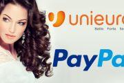 PayPal vi regala un risparmio di 10€ da Unieuro: codice sconto per acquisti a partire da 99 euro