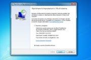 Windows - come ripristinare configurazione di sistema