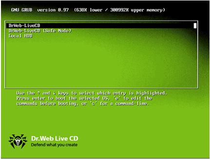 Dr.Web LiveCD