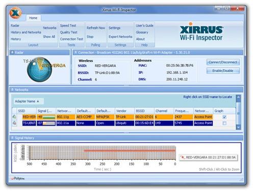 Xirrus Wi-Fi Inspector