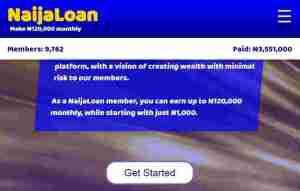 naijaloan homepage
