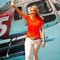 Helicóptero da Saúde fez itinerário que coincide com agenda de campanha de Andrea Murad