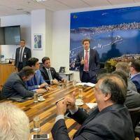Em Brasília, Flávio Dino defende rateio de Fundo Petrobras para estados da Amazônia Legal