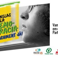 PSB, PDT, Rede, Cidadania e PV realizam ato pelo impeachment do presidente Bolsonaro